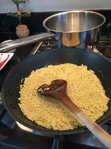 toasting-millet