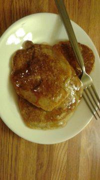 Buckwheat Pancakes Plate