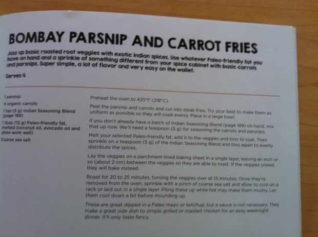 parsnip fries recipe